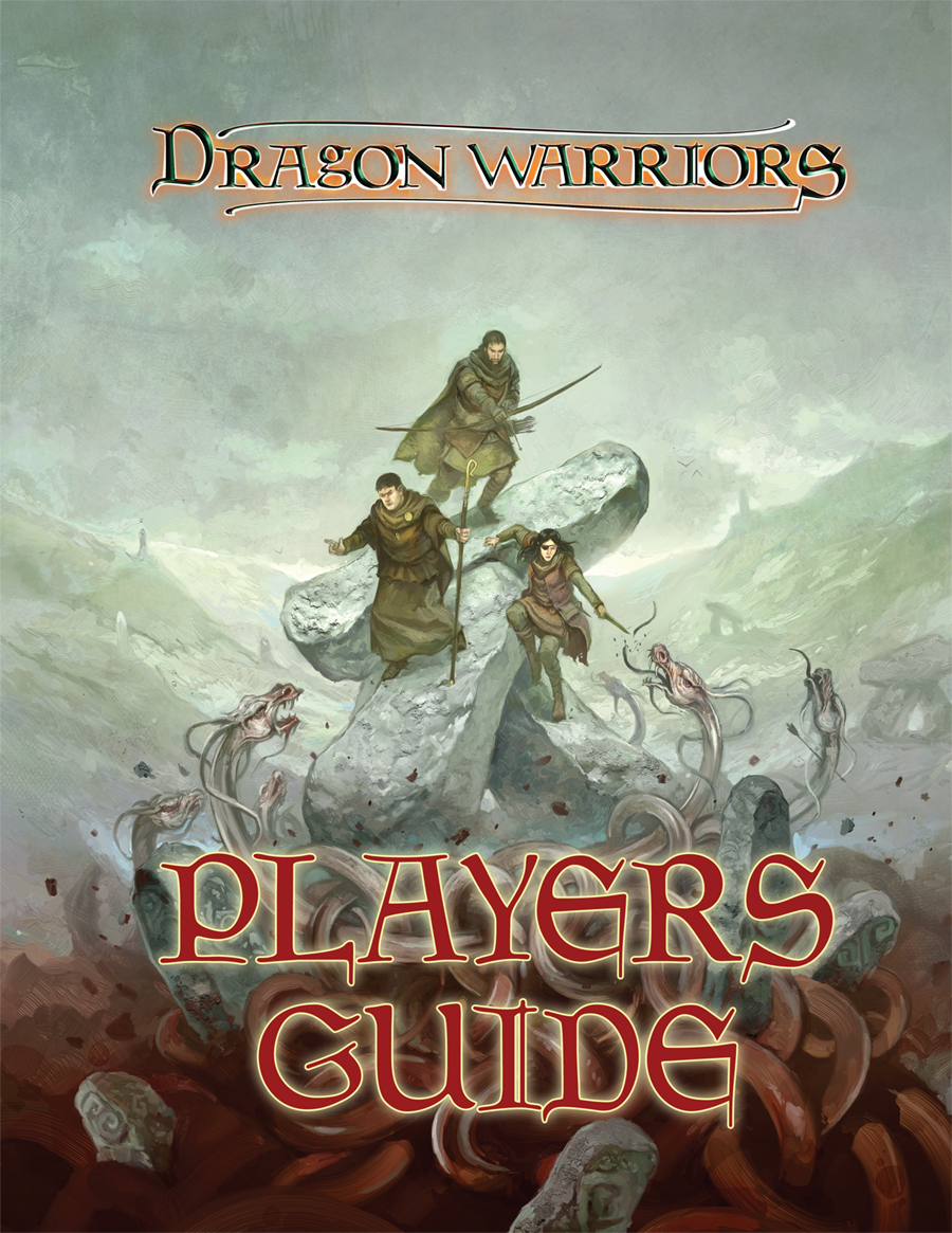 Dragon Warriors Players Guide cover artwork