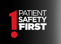Patient Safety First campaign logo